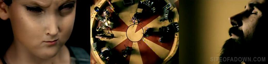 Imagem do vídeo-clipe de Aerials