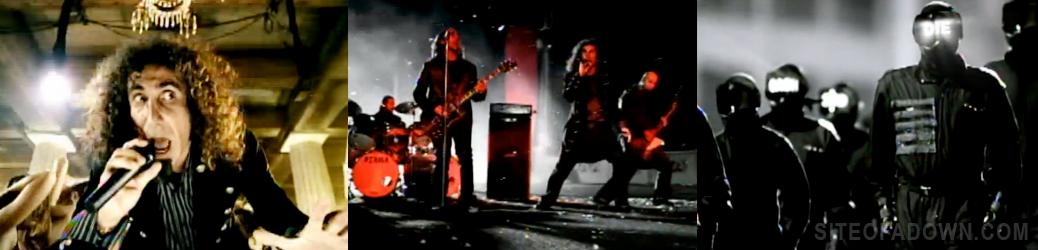 Imagem do vídeo-clipe de B.Y.O.B.