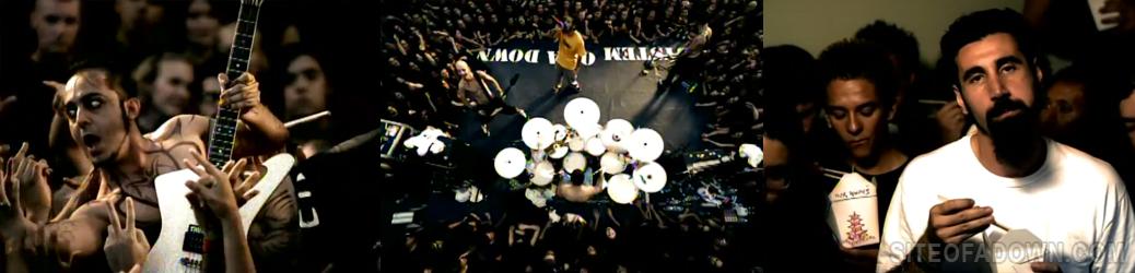 Imagem do vídeo-clipe de Chop Suey!