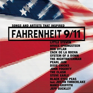 Capa da compilação 'Songs And Artists That Inspired Fahrenheit 9/11'
