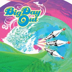 Capa da compilação 'Big Day Out Compilation Album'