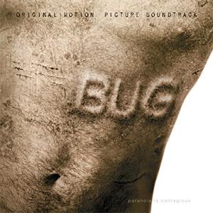 Capa da trilha sonora do filme 'Bug'