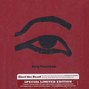Capa do álbum 'Elect the Dead Limited Edition' de Serj Tankian