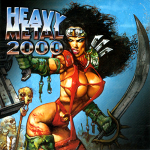 Capa da trilha sonora do filme 'Heavy Metal 2000'
