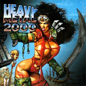 Capa da trilha sonora do filme 'Heavy Metal 2000'