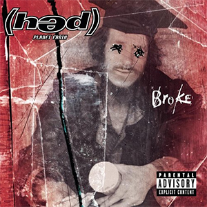 Capa do álbum 'Broke' do (hed)pe