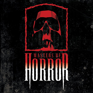 Capa da trilha sonora do filme 'Masters of Horror'