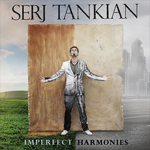 Capa do álbum 'Imperfect Harmonies' de Serj Tankian
