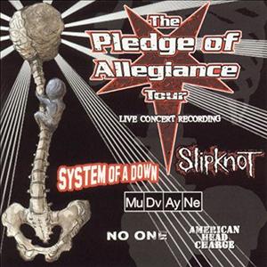 Capa da compilação 'Pledge Of Allegiance Tour 2001'