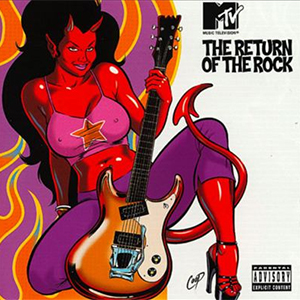 Capa da compilação 'MTV's Return of the Rock'