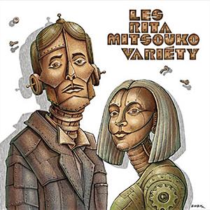 Capa do álbum 'Variéty' de Les Rita Mitsouko