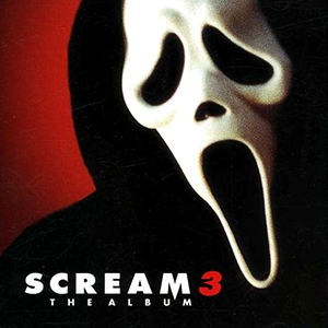 Capa da trilha sonora do filme 'Scream 3'