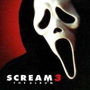 Capa da trilha sonora do filme 'Scream 3'