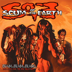 Capa do álbum 'Blah... Blah... Blah... Love Songs...' do Scum Of The Earth