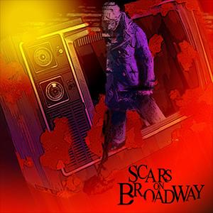 Capa do álbum de estréia do 'Scars on Broadway'