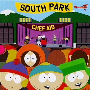Capa da compilação 'Chef Aid - The South Park Album'