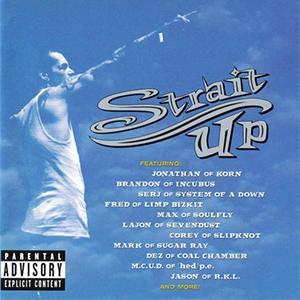Capa do álbum 'Tribute To Lynn Strait' do Strait Up