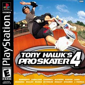 Capa da trila sonora de 'Tony Hawks Pro Skater 4'