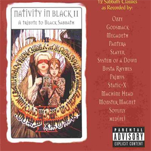 Capa da compilação 'Nativity In Black II - Tribute To Black Sabbath'