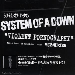 Capa do single Violent Pornography