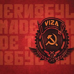Capa do álbum 'Made in Chernobyl' do Viza