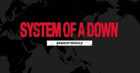 System of a Down anuncia a Turnê Wake Up the Souls