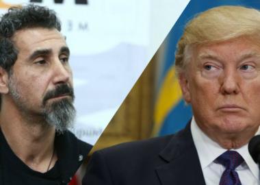 Serj Tankian critica a política externa de Donald Trump