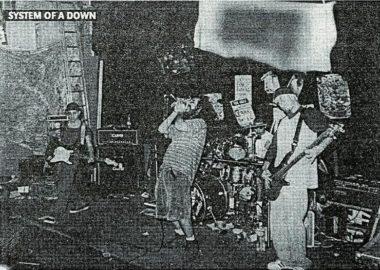 Show mais antigo do System of a Down é disponibilizado na internet