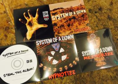 System of a Down relança toda sua discografia em vinil