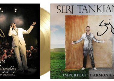 Serj Tankian relança discografia em discos de vinil autografados